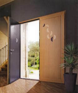 Cerramiento aluminio puerta de entrada